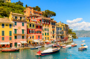 Harbor of Portofino, Italy