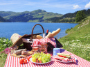 Picnic in the French Alps