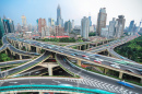 Shanghai Elevated Road Junctions