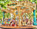 Merry-Go-Round In Cannes, France