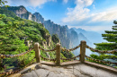 Huangshan Mountains, Eastern China