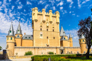 Segovia Castle, Alcazar, Spain