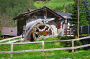 Antique Water Mill in the Dolomites
