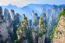 Landscape of Zhangjiajie, China