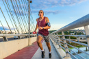 Jogging on a Bridge