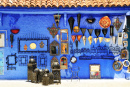 Handicrafts Shop In Chefchaouen, Marocco