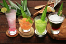 Javanese Cold Dessert Drinks