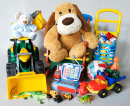 Plush and Plastic Toys
