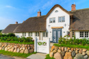 Traditional House, Wenningsted Village, Germany