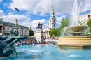 Fountains of Trafalgar Square, London