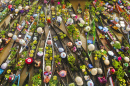 Floating Market in Borneo