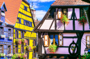 Medieval City of Riquewihr, France