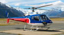 Tourist Helicopter, MT Cook, New Zealand