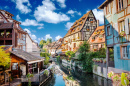 Town of Colmar, France