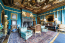 Living Room at Hearst Castle, California