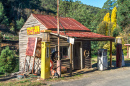 Vintage Petrol Station, Woods Point, Australia