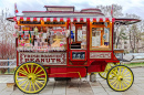 Candy Cart in Belgrade, Serbia