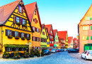 Old Town of Dinkelsbuhl, Bavaria, Germany