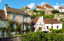 Village in Flavigny-sur-Ozerain, France