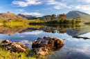Derryclare Lough Lake, Ireland