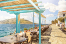 Seaside Restaurant, Aegina Island, Greece