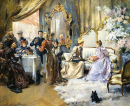 Afternoon Tea at the Painter's Salon