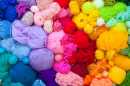 Colorful Balls of Yarn
