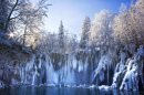 Plitvice Lakes National Park in Winter