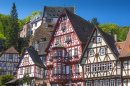 Half Timbered Houses in Miltenberg, Germany