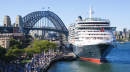 Queen Victoria in Sydney Harbor
