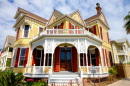 Victorian House in Galveston TX