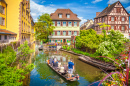 Historic Town of Colmar, France