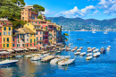 Old Town of Portofino, Italy