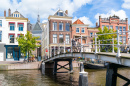 Old Town of Leiden, Netherlands