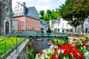 Rur River, Historic Center of Monschau, Germany