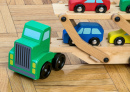 Toy Truck Carrying Toy Cars