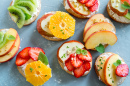 Fruit Sandwiches with Ricotta