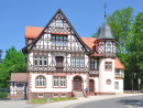Historic Post Office of Bad Liebenstein, Germany