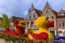 Flower Parade in Haarlem, Netherlands