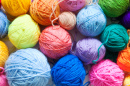 Colored Balls of Yarn