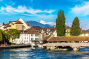Historical City Center of Lucerne, Switzerland