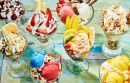 Italian Ice Cream Sundaes