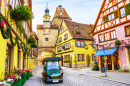 Rothenburg ob der Tauber, Decorated For Christmas