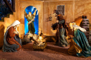 Nativity Scene in Valladolid, Spain