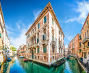 Historic Buildings in Venice, Italy