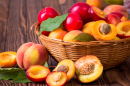 Peaches, Plums and Apricots