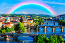 Rainbow Over Charles, Prague