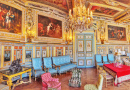 Fontainebleau Palace Interiors, France