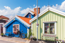 Wooden Houses in Karlskrona, Sweden