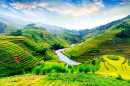 Rice Fields of Mu Cang Chai, Vietnam